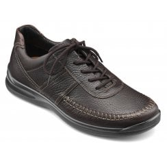 Ashford Std Fit Dark Brown Leather Lace Up Shoe