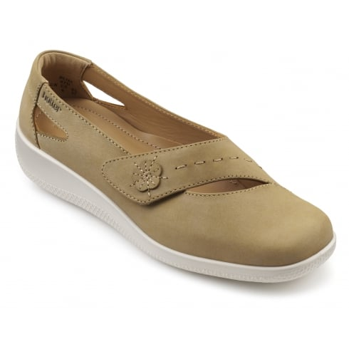 Hotter Bliss Wide Fit - Sand Nubuck