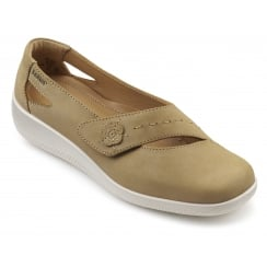 Bliss Wide Fit - Sand Nubuck