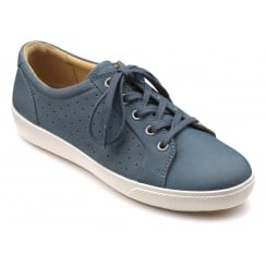 Brooke Blue River Nubuck Trainer Style Shoe