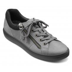 Chase Slate Suede/Nubuck Std Fit Trainer Style Shoe