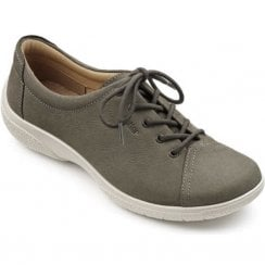 Dew EEE Wide Fit - Dark Stone Nubuck Leather