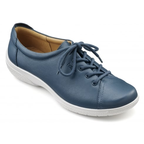 Hotter Dew Wide Fit - Blue River Leather