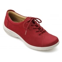 Dew Wide Fit - Tango Red Nubuck