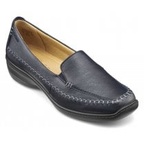 Ecuador Navy Std Fit Leather Loafer Shoe