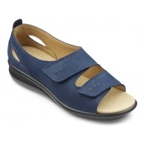 Florence EEE Wide Fit -Navy Nubuck