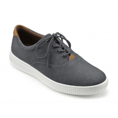 Grenada Blue Washed Std Fit Casual Shoe
