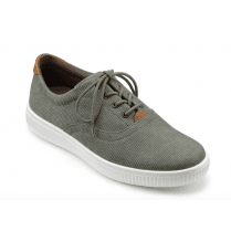 Grenada Khaki Washed Std Fit Casual Shoe