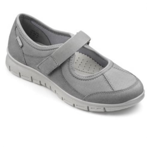 Hotter Grey Suede/Nubuck Leather Mary