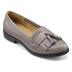 Hamlet Flint Leather Flat Moccasin Style Shoe.
