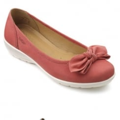 Jewel Wide Fit -Coral Nubuck
