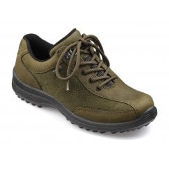 Mist Std Fit Loden Green Gore-Tex Nubuck Flat Walking Shoe