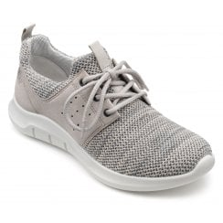 Motion Truffle Multi Std Fit Lace Up Trainer Style Shoe