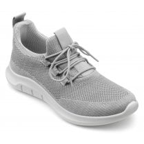 Move Pebble Grey Std Fit Lace Up Trainer Style Shoe