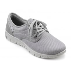 Nimbus Powder Grey Flat Trainer Style Shoe