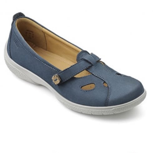 Hotter Nirvana Blue River Wide Fit Shoe