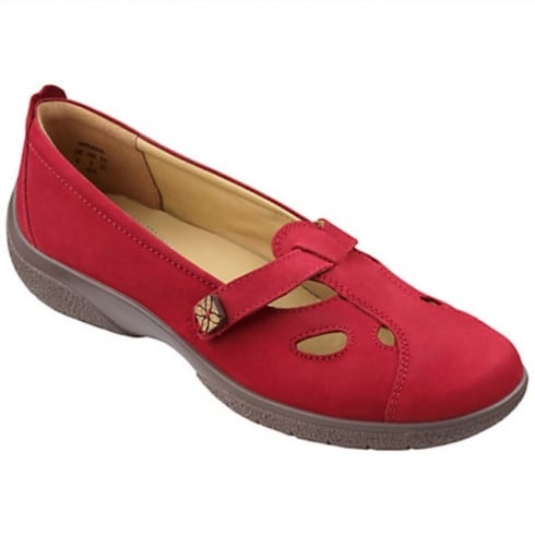 Hotter Nirvana Crimson Wide Fit Shoe