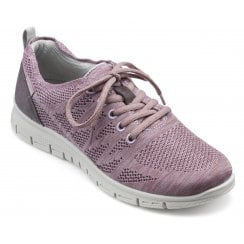 Nova Mauve Multi Std Fit Flat Trainer Style Shoe