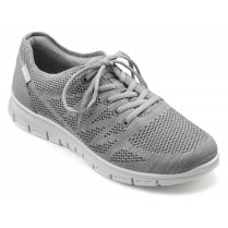 Nova Std Fit Pebble Grey Flat Trainer Style Shoe
