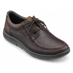Reflex Dark Brown Std Fit Leather Moccasin Style Shoe