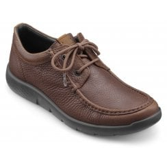 Reflex Dark Tan Std Fit Leather Moccasin Style Shoe