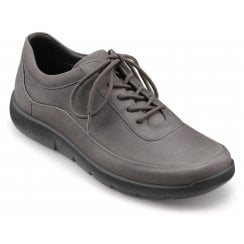 Rush Smoke Std Fit Waxed Nubuck Lace Up Shoe