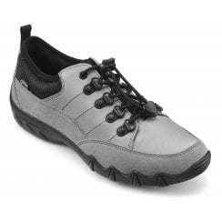 Rydal Std Fit Pebble Grey Gore-Tex/Nubuck Flat Walking Shoe