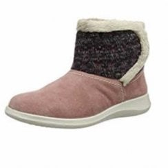 Snug Salmon Combi Bootie Slipper