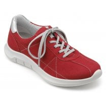 Solar Scarlet Multi Std Fit Laced Trainer Style Shoe