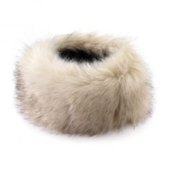 Stone faux fur headband