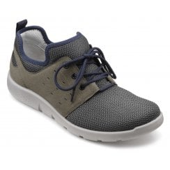 Strike Smoke Multi Std Fit Lace Up Trainer Style Shoe