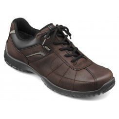 Thor Std Fit Chocolate Gore-Tex Waxed Nubuck Lace Up Shoe