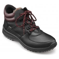 Vale Black Multi Std Fit Leather Gore-tex Lace Up Boot