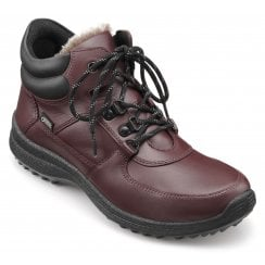 Vale Maroon Std Fit Leather Gore-tex Lace Up Boot