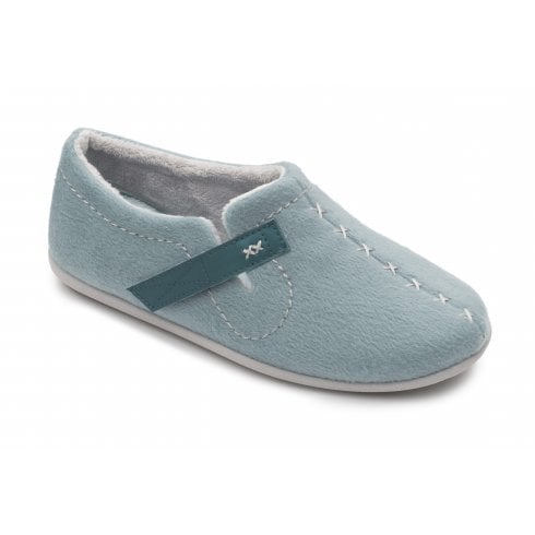 Padders Apres Blue Full Slipper