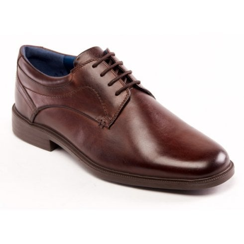 Padders Bank Brown Leather Lace Up Shoe