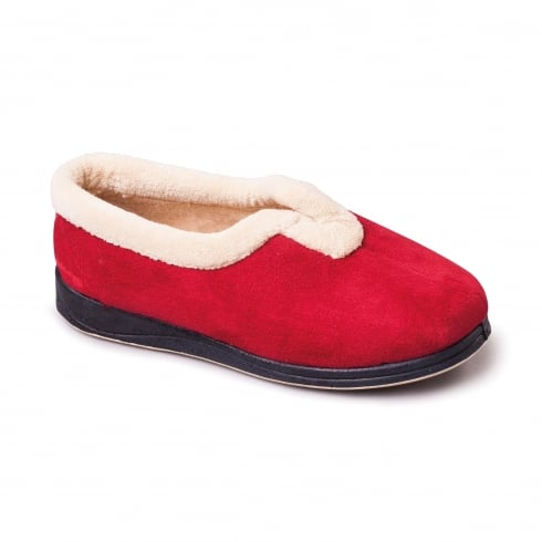 Padders Carmen Red Full Slipper