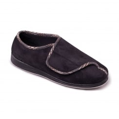 Chris Mens Black Slipper