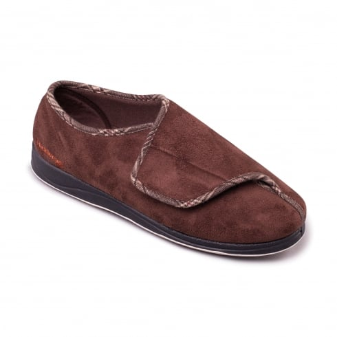 Padders Chris Mens Brown Slipper
