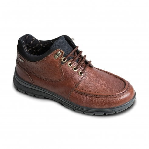 Padders Crest Tan Waterproof Leather Lace Up Shoe