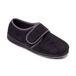 Harry Mens Black Slipper