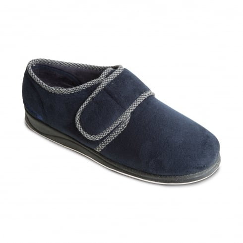 Padders Harry Mens Navy Slipper