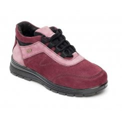 Jump Plum Waterproof Nubuck Flat Walking Shoe