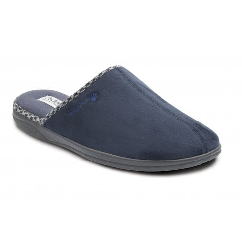 Padders Luke Navy Mule Slipper