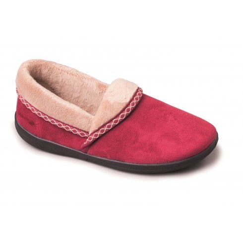 Padders Mellow Cherry Full Slipper