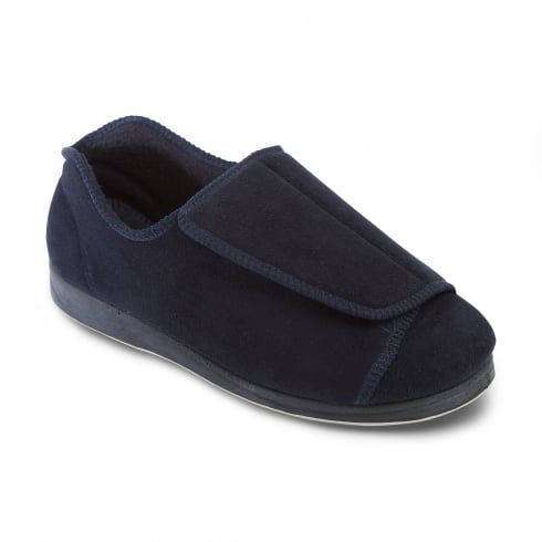 Padders Peter Mens Navy Slipper