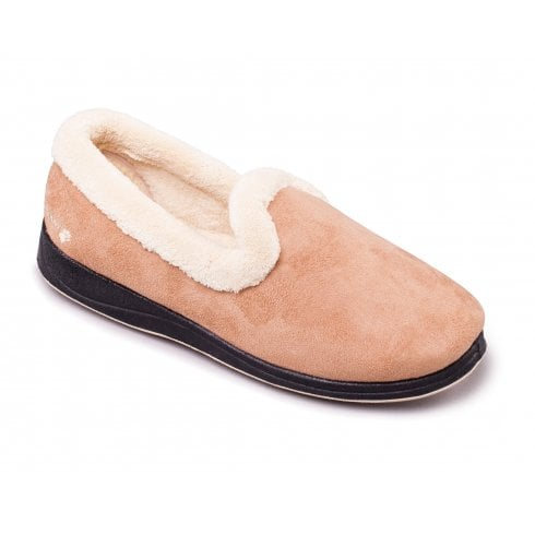 Padders Repose Camel Full Slipper