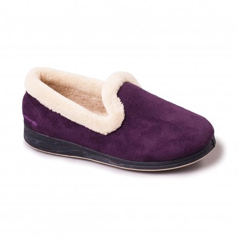 Padders Repose Lilac Full Slipper
