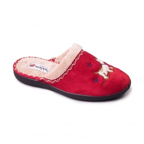 Padders Scotty Red Slipper