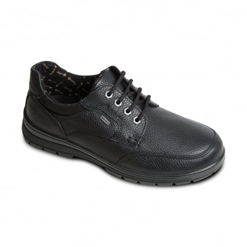 Padders Terrain Gortex Black Leather Lace Up Shoe